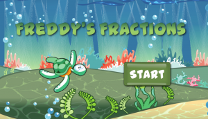 Freddy's Fractions at Math Chimp