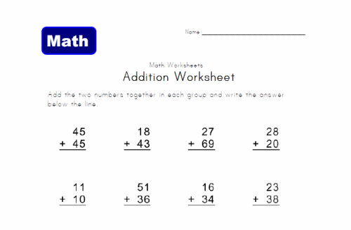 Math Worksheets For 2nd Grade – Grade Two Math Worksheets