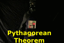 Pythagorean Theorem... Taught by Darth Vader