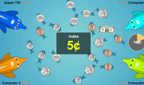 money games online for 1st grade