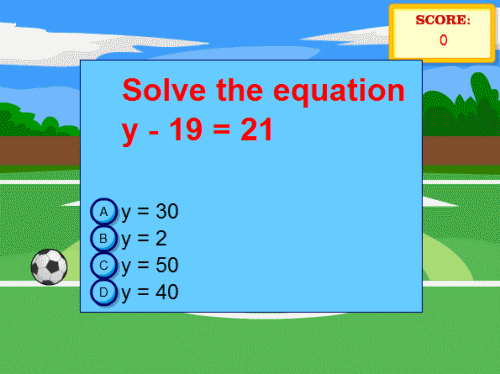 Reason about and solve one-variable equations and inequalities | 6th ...