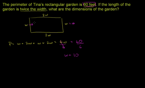3rd Grade Videos - Geometric measurement - recognize perimeter as an