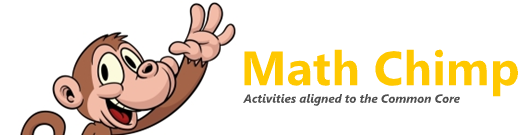 Math Chimp - Math activities aligned to the Common Core standards